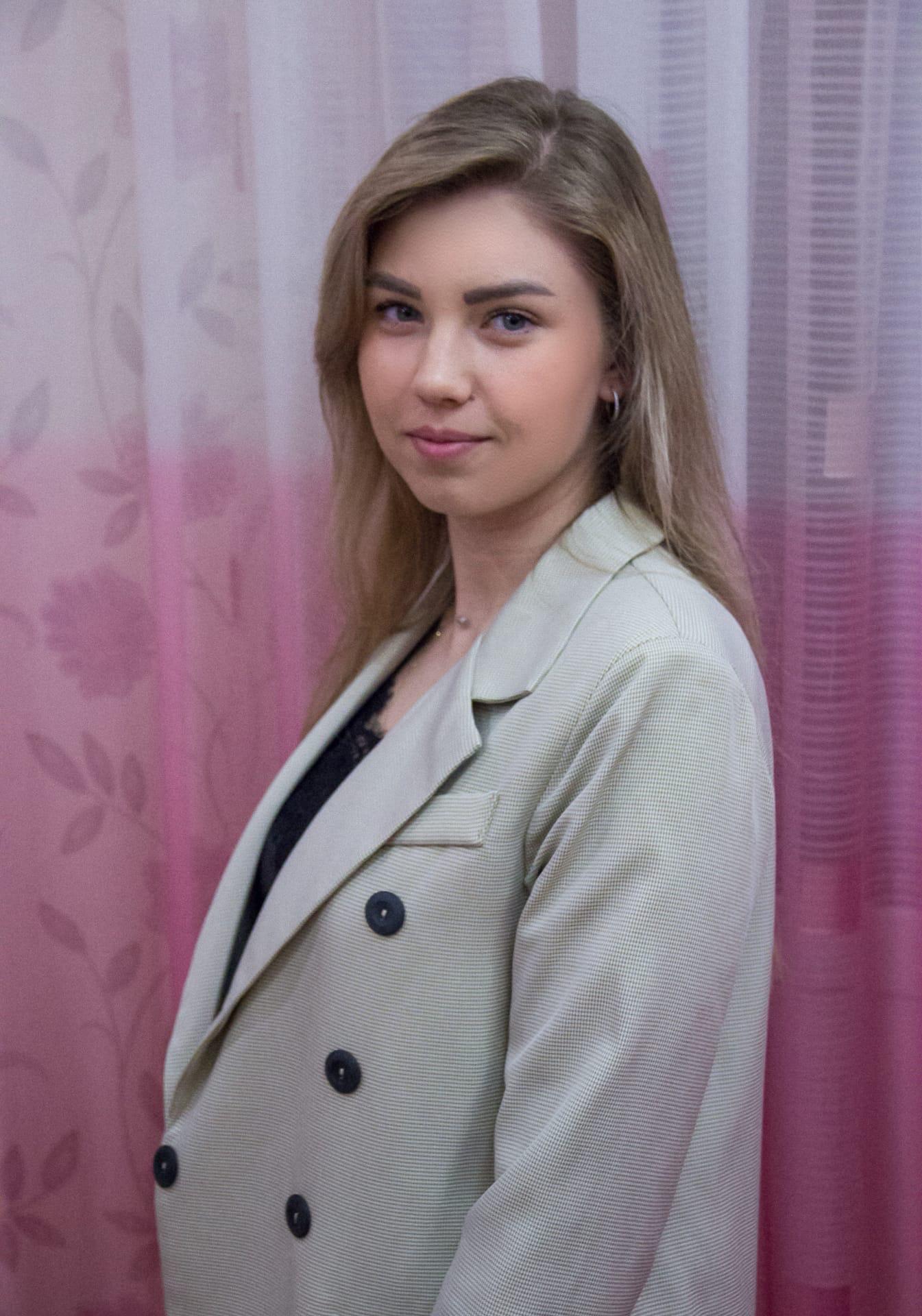 Фото Репетитора: Елизавета, 18 лет